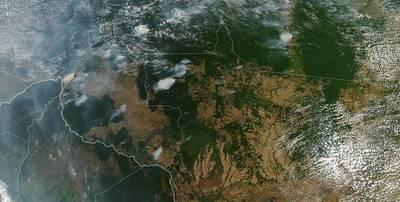 La Amazonia brasileña arde a un ritmo récord; Bolsonaro sugiere que ONG causan los incendios de forma deliberada