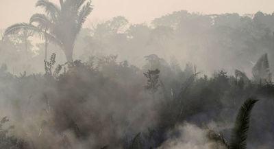 La NASA alerta que el humo de incendios en la Amazonía se extiende en Brasil