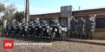GRUPO LINCE RECIBIÓ 10 MOTOCICLETAS 0 KM EN ITAPÚA