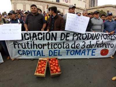 Confirman acuerdo con productores de tomate de Caaguazu