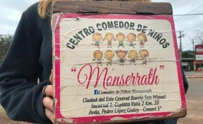 "Denuncian que comedor ""Monserrath"" no existe"