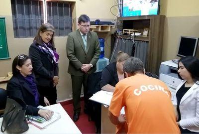 Inspeccionan penitenciarías de Emboscada para informe a CSJ