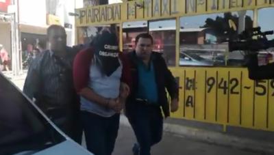 """Cayó """"Roque Py guasu"""", supuesto líder de asalto a Visión Banco"""