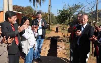 Inauguran desagüe pluvial en Yguazú