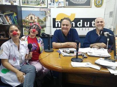 """Fundación """"Dr. Payasonrisa"""" organiza maratón por el mes del niño"""