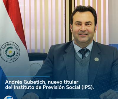 Andrés Gubetich, nuevo titular del (IPS)