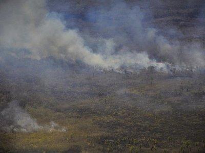 Viento amenaza con propagar los incendios de Brasil y Bolivia a Paraguay