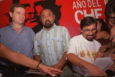 Arrom, Martí y Colmán, demorados en el Juzgado Penal de Montevideo