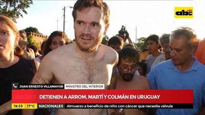 Arrom, Martí ha Colmán ho'a Uruguáipe
