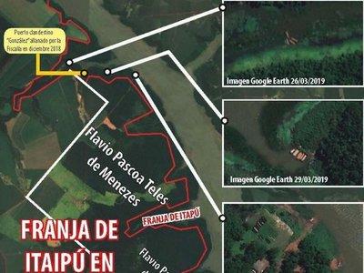 Vecino de la Itaipú rodea las zonas de contrabando en Puerto Tigre