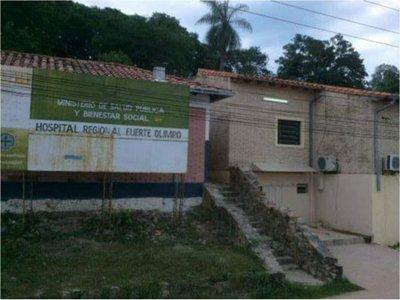 Hospital Regional de Fuerte Olimpo carece de insumos para cirugías
