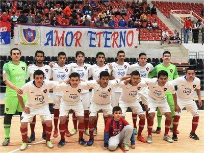 Cerro golea a Olimpia en la primera final de futsal FIFA