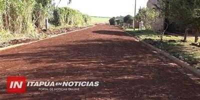 ANUNCIAN CONSTRUCCIÓN DE EMPEDRADOS POR IMPORTE DE GS. 1.200 MILLONES