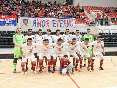 Cerro golea a Olimpia en primera final de futsal FIFA