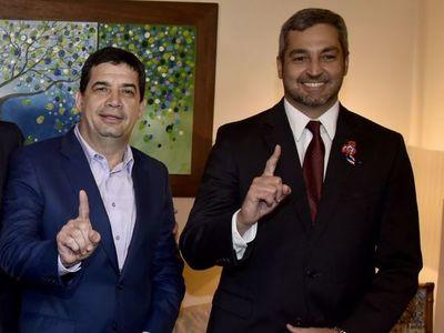 """Mario Abdo está """"fortalecido"""", dice ministro"""