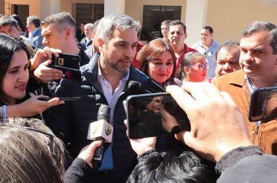 """""""Ojalá que vengan acá a rendir cuentas a la justicia"""", dice Abdo sobre detención de Arrom y Martí"""