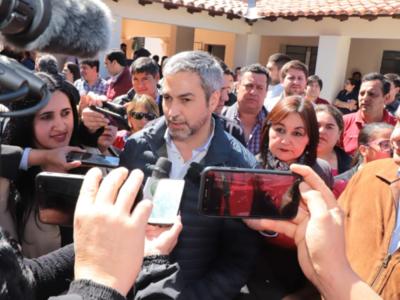 Arrom y Martí: 'ojalá que vengan a rendir cuentas a la justicia', sostiene Mario Abdo