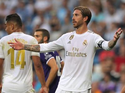 Real Madrid cede dos puntos ante el Valladolid