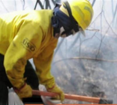 Así combaten el fuego en el Pantanal paraguayo