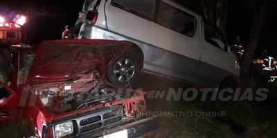 AHORA: GRAVE ACCIDENTE RUTERO EN CARMEN DEL PARANÁ