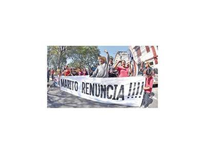 Protestas contra el Ejecutivo continuaron el fin de semana