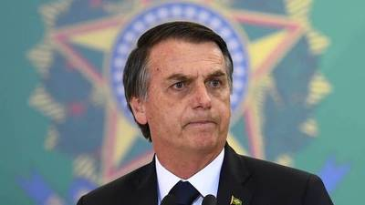 """""""Bolsonaro Ecocida"""": sudamericanos protestan contra el presidente brasileño"""
