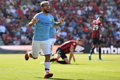 Agüero fulmina al Bournemouth