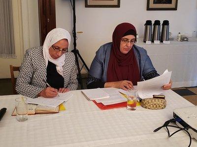 Palestinas visitan Paraguay para conocer lucha de domésticas