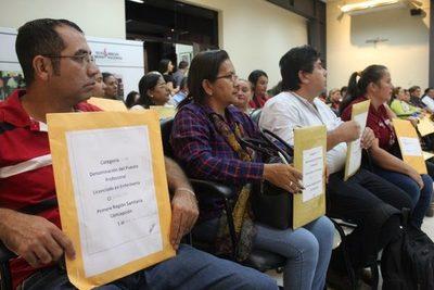 Desde este lunes Salud inicia recepción de carpetaspara cubrir 616 vacancias