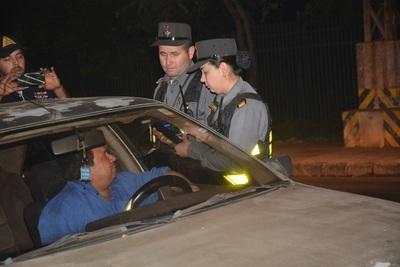 322 personas retenidas por conducir alcoholizadas