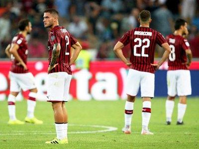 El Milan cae ante Udinese sin rematar al arco