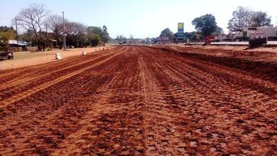 MOPC inició los trabajos previos para la duplicación de la ruta PY02 en Caaguazú