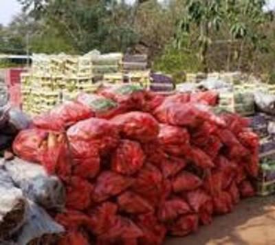Incautan importante lote de productos de contrabando