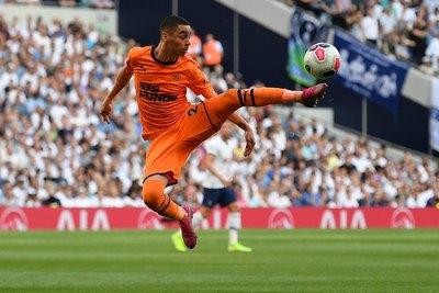 """Miguel Almirón y su """"casi gol"""" ante el Tottenham"""