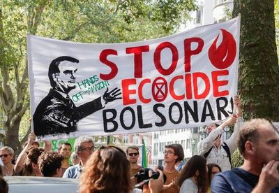 """Macron:  """"Los brasileños se avergüenzan del comportamiento de Bolsonaro"""""""