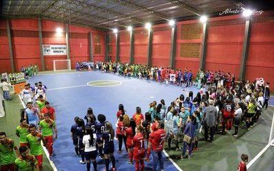 Inauguran torneo municipal en San Alberto