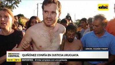 Confían en justicia uruguaya
