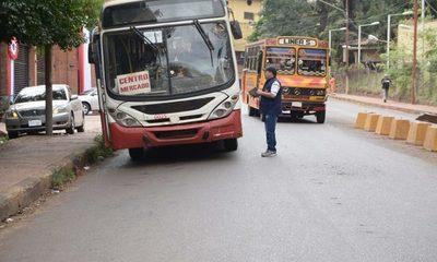 Una vez más prometen hacer cumplir horarios e itinerarios del transporte público