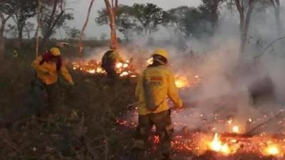 Bolivia quiere una reunión regional por incendios forestales pero Brasil demora respuesta