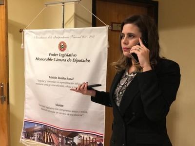 Los fueros no son para delinquir, sostiene Kattya González