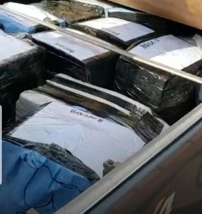 Incautan cerca de 388 kilos de cocaína en Puentesiño