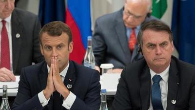 Bolsonaro aceptará ayuda del G7 si Macron le pide disculpas