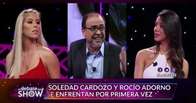 Piquito Salinas y una filosa pregunta para Sole Cardozo y Rocio Adorno