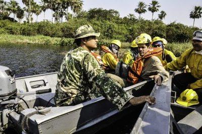 La lluvia alivia situación en el Chaco y autoridades confían en aplacar focos de incendios