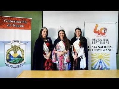 40a. EDICIÓN DE LA ''FIESTA NACIONAL DEL INMIGRANTE'' DE OBERÁ ARGENTINA SE PRESENTÓ EN ITAPÚA