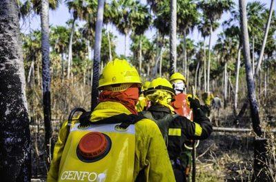 Así combatimos el incendio en el Chaco