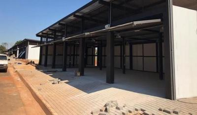 Área de Servicios para muebleros en Caaguazú, en fase de culminación