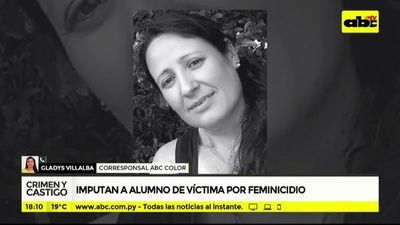Crimen y Castigo: Imputan a sospechoso feminicida en Luque