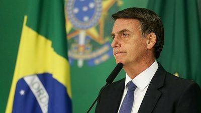 Crece desaprobación de de Bolsonaro en Brasil