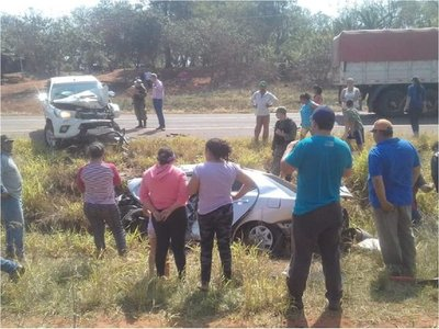 Accidente en Cuero Fresco dejó un fallecido